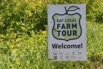 Simple Harvest Organic Farm, 7 Eat Localsign