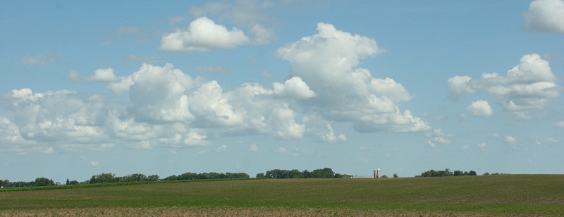 Sky in sw MN, 15 big sky & farm site