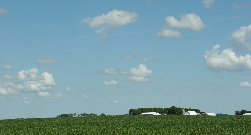 Sky in sw MN, 7 big sky & farm site