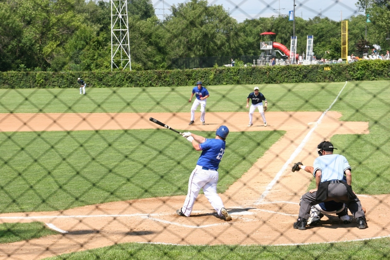 And the batter swings.