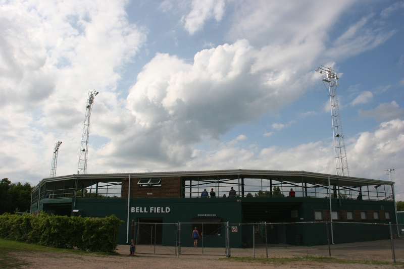 Bell Field in North Alexander Park, Faribault, Minnesota.