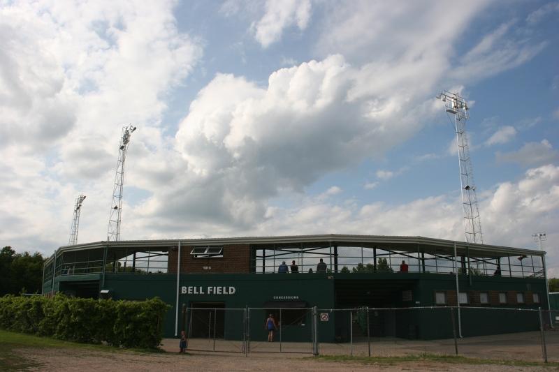 Bell Field in North Alexander Park, Faribault, Minnesota.