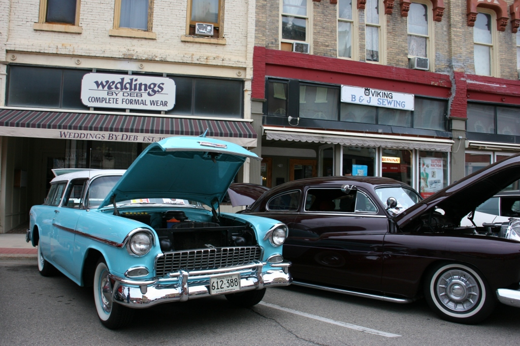 Another favorite of mine: a 1955 Chevy Nomad two-door wagon.