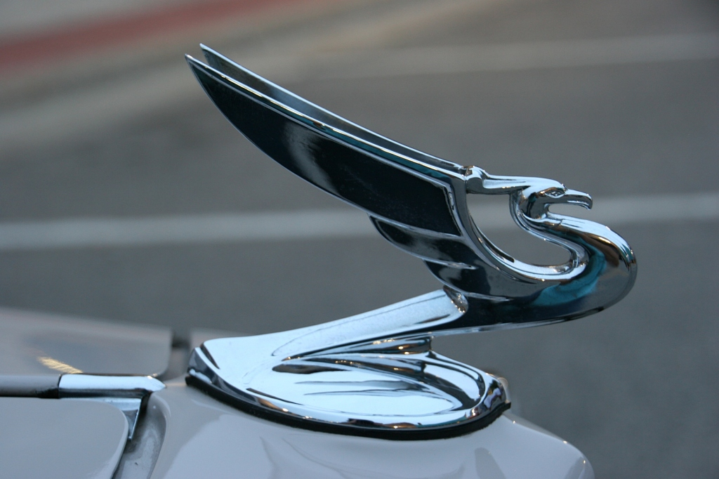 Hood ornaments always interest me for their artsy beauty.