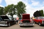 Car show, 18 row of redcars
