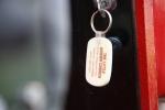 Car show, 29 Little Brown Church keychain