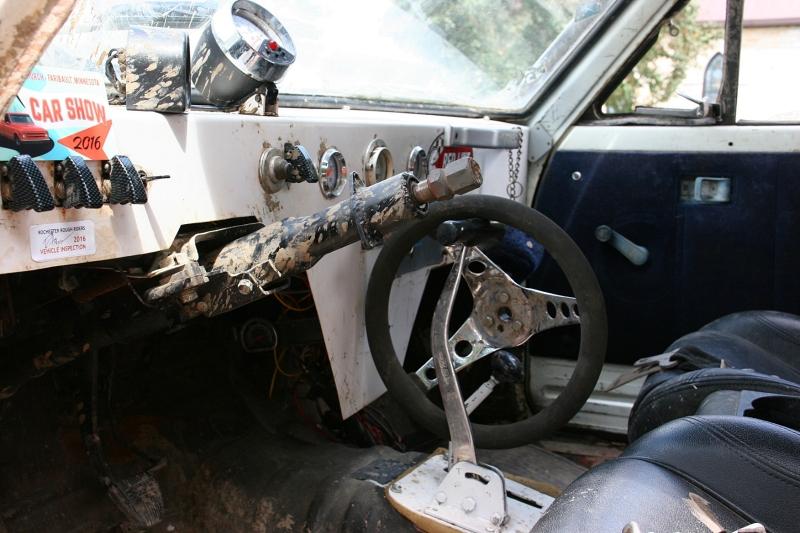 Car show, 81 inside trail truck