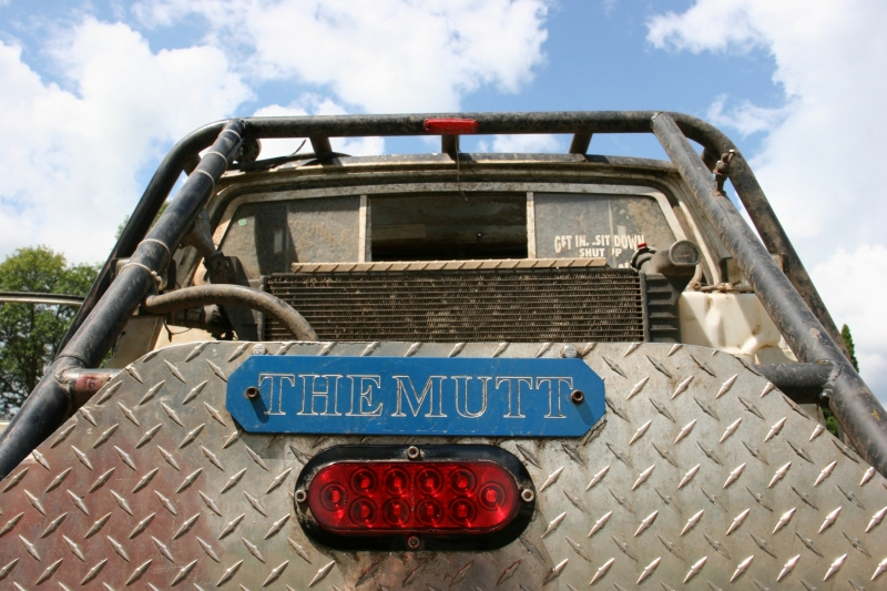 Car show, 85 The Mutt close-up