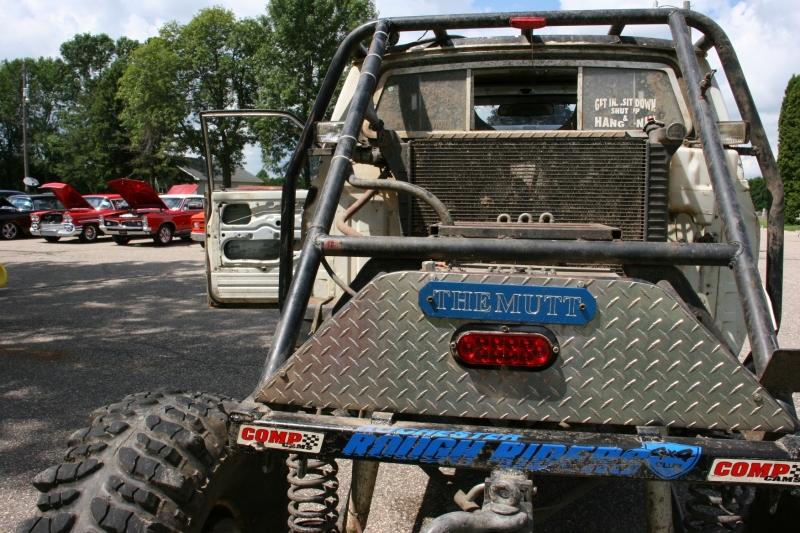 Car show, 86 Shane's trail truck back of