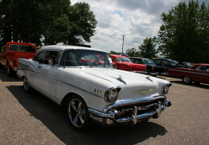 Chevrolets are popular collector cars.