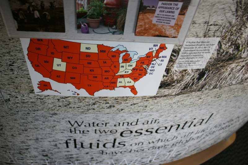 According to this graphic, 40 states are expected to experience water shortages by 2024. that includes Minnesota.