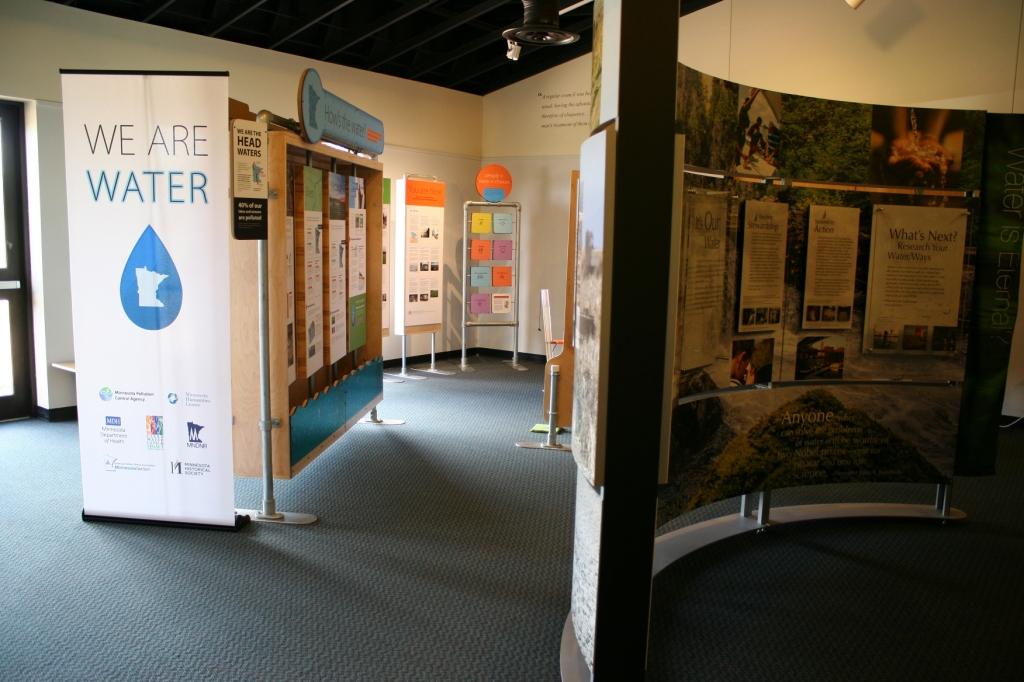 "I appreciate the ""We Are Water MN"" aspect of the exhibit."