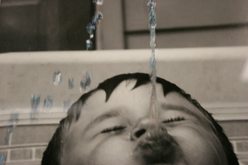 "A photo in Kay Herbst Helms' ""Water Rights"" exhibit."