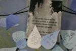 Exhibit on water, #8 words on waterdroplets