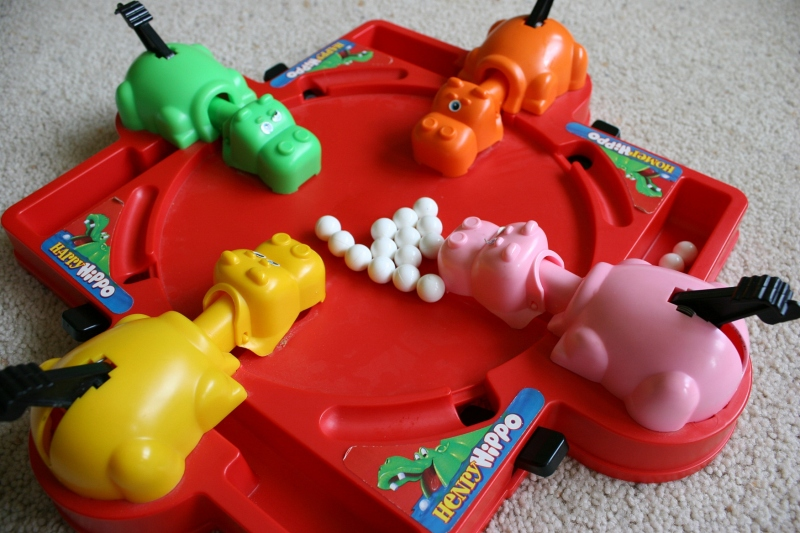 Hungry Hungry Hippos game #13