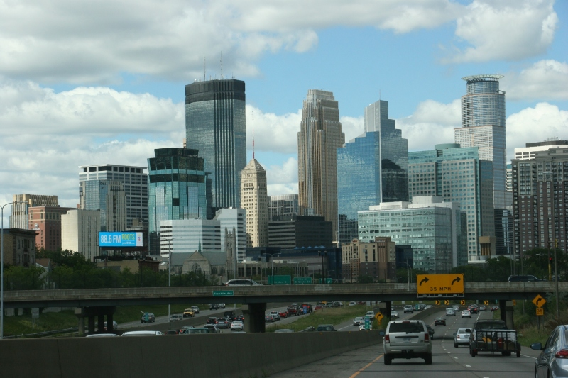 Minneapolis skyline, #10