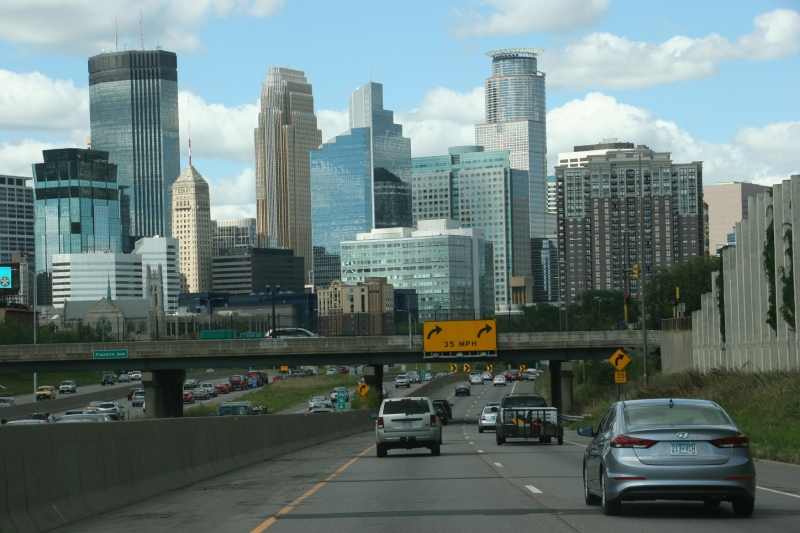 Minneapolis skyline, #11