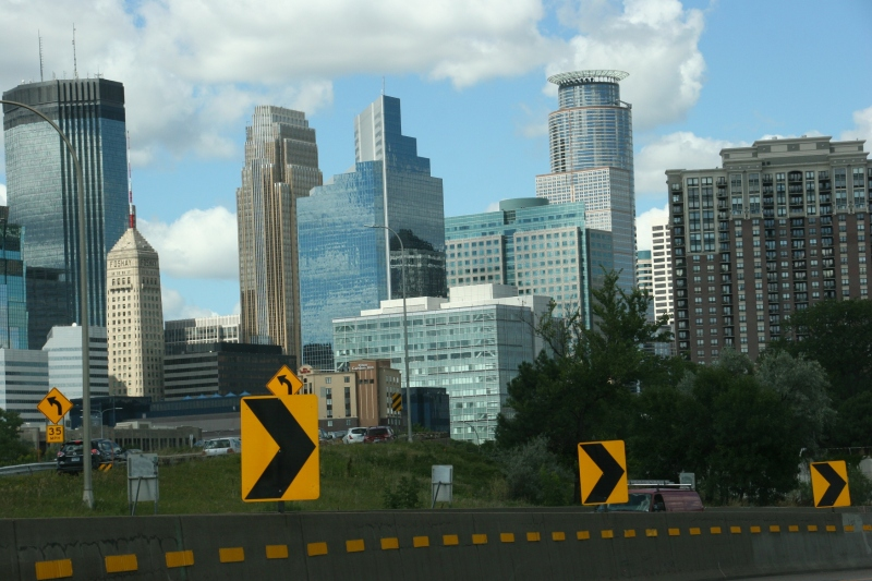Minneapolis skyline, #12