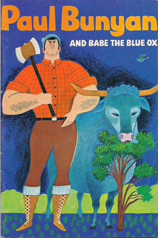Paul Bunyan book cover