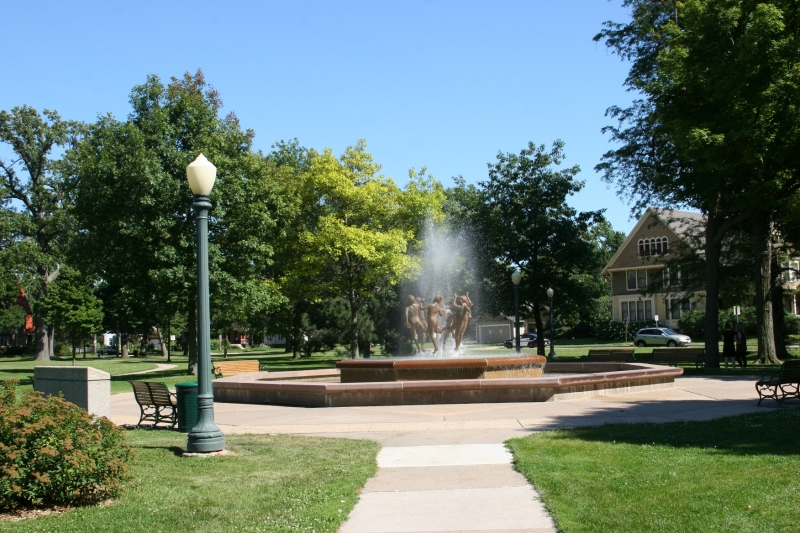 Ring Dance fountain, #51 from a distance
