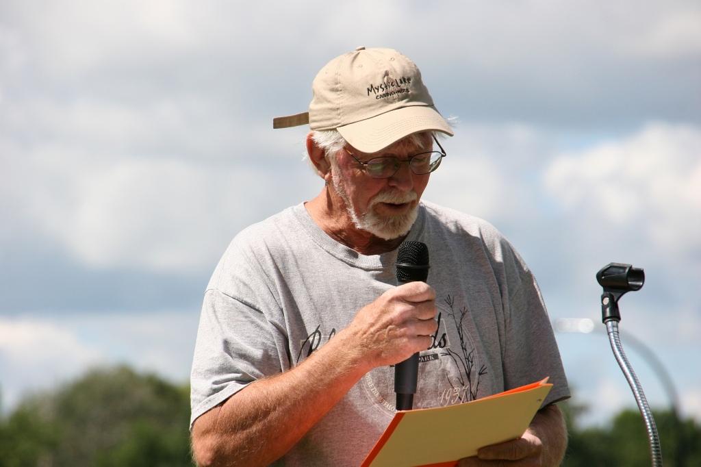 North Mankato poet John Hurd reads.
