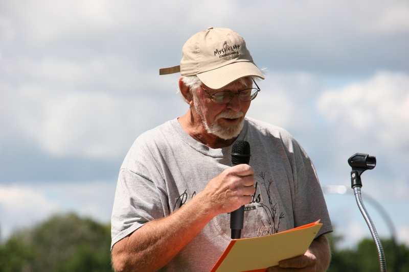 North Mankato poet John Hurd reads.
