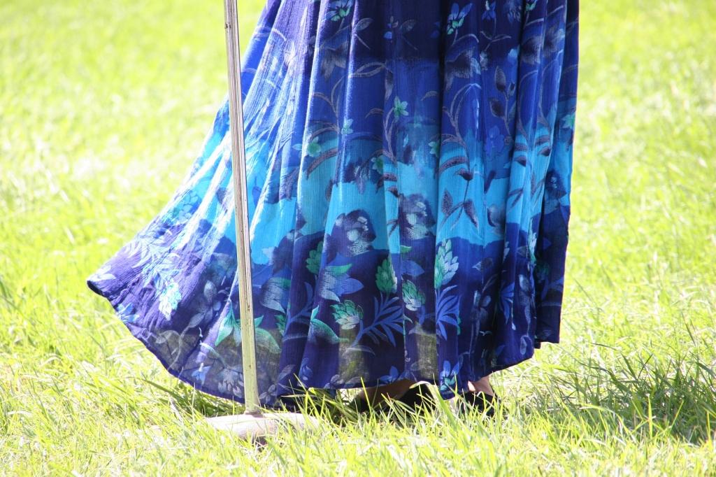 Water celebration, #94 Susan's dress blowing in breeze