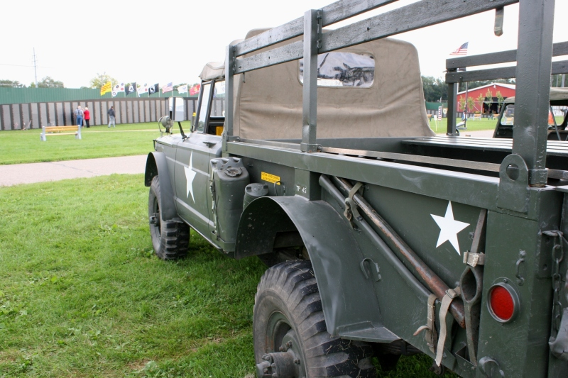 The Military Mobile Museum brought equipment to the fairgrounds.