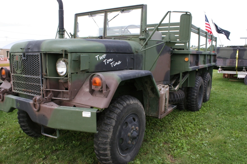 Even this military truck was named by soldiers.