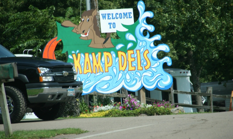 As I passed Kamp Dels near Waterville recently, I noticed how the campground is emptying.