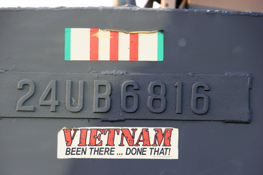 I noticed this sticker on the end of the boat.