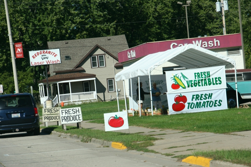 Roadside stands are plentiful this time of year.