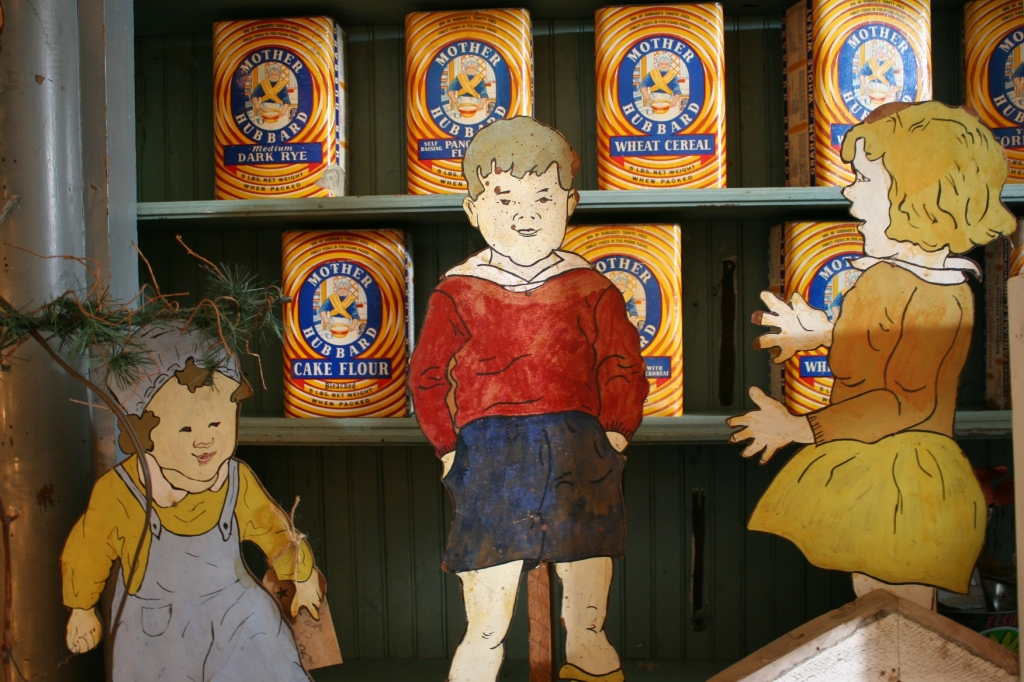 Mother Hubbard items come from a Mankato flour mill.