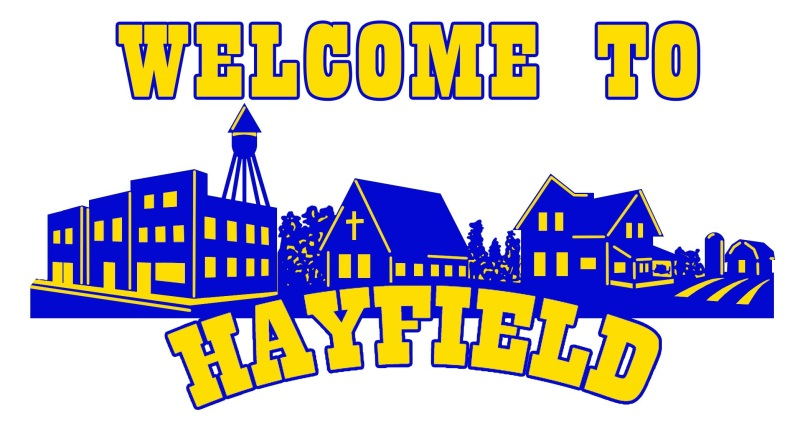 I pulled this logo from The City of Hayfield, Minnesota, website.