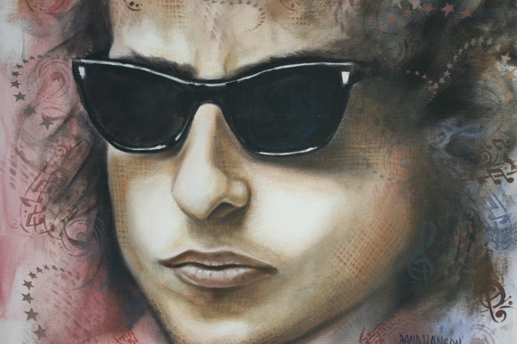 Dana's younger version of Bob Dylan, born Robert Allen Zimmerman.
