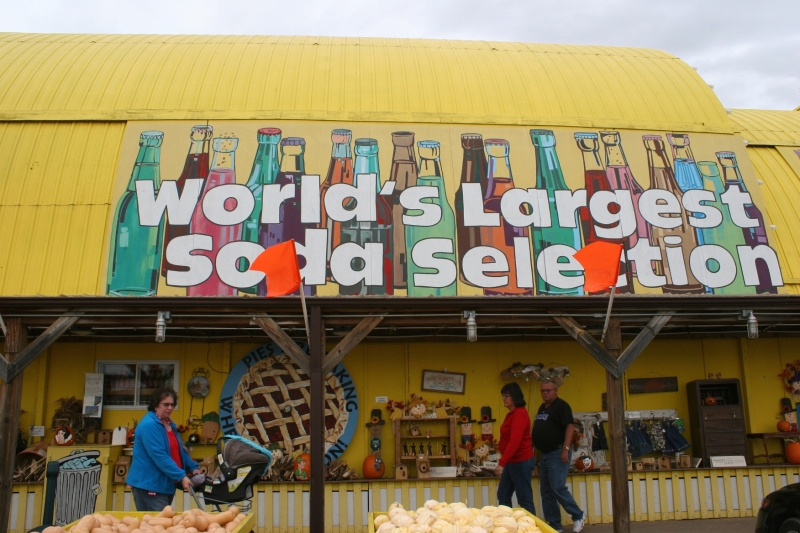 Minnesota's Largest Candy Store also boats the World's Largest Soda Selection. You will find flavors here that you would never even consider for pop (the Minnesota word for soda).