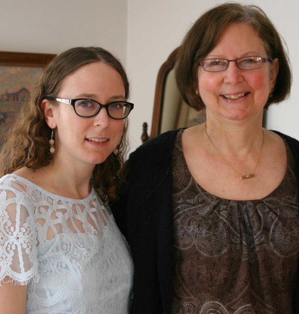 Miranda and me. Minnesota Prairie Roots file photo February 2016.