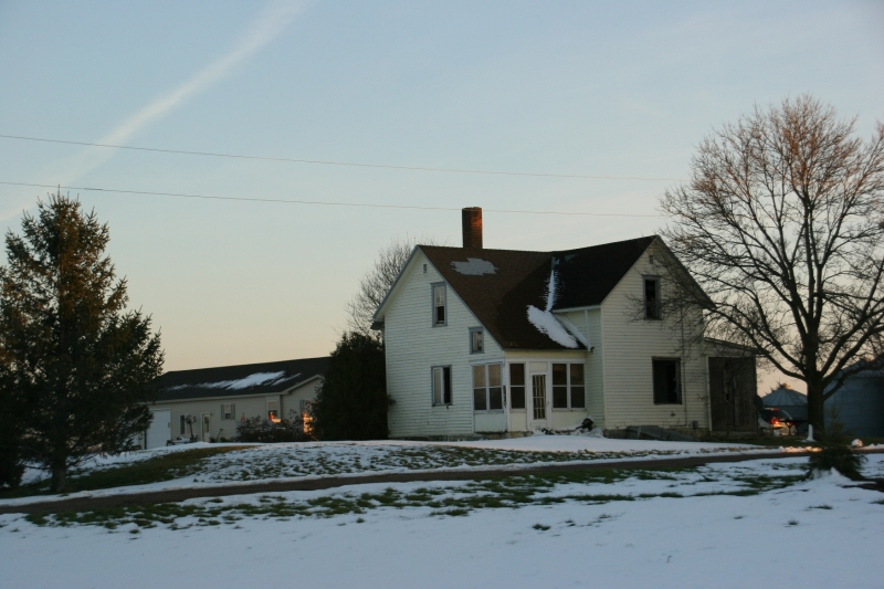 A farmhouse along Minnesota State Highway 19 in Redwood County near my hometown of Vesta.