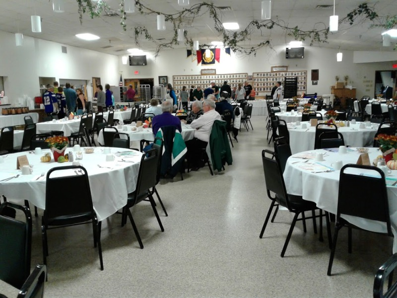 The setting for Faribault's Community Thanksgiving Dinner.