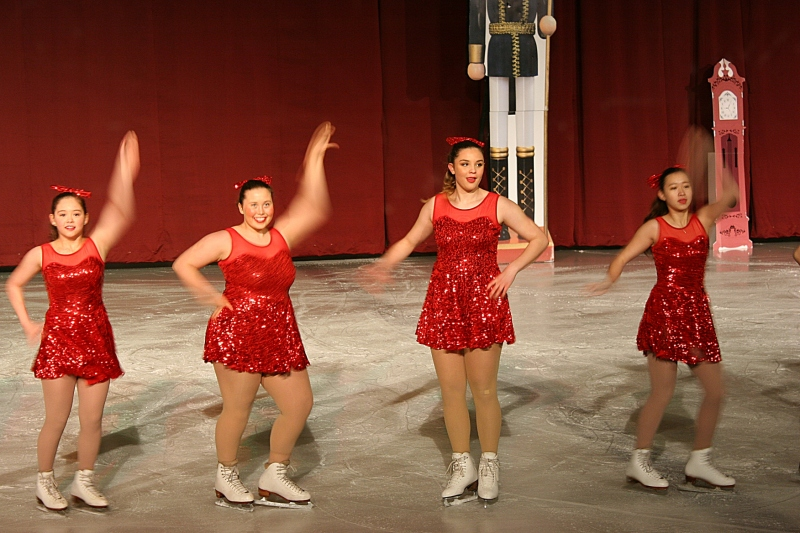 Skaters from Shattuck-St. Mary's Figure Kating Center of Excellence presented a Christmas Spectacular on Ice.