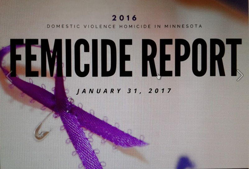 A graphic from the MCBW Facebook page promoting release of the 2016 Femicide Report.