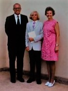 Kirk Griebel with his parents, the Rev. Paul and Margaret Griebel, on his Confirmation Day in 1972. The family left Nigeria shortly thereafter.