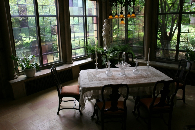 My favorite space, the sun-drenched Breakfast Room.
