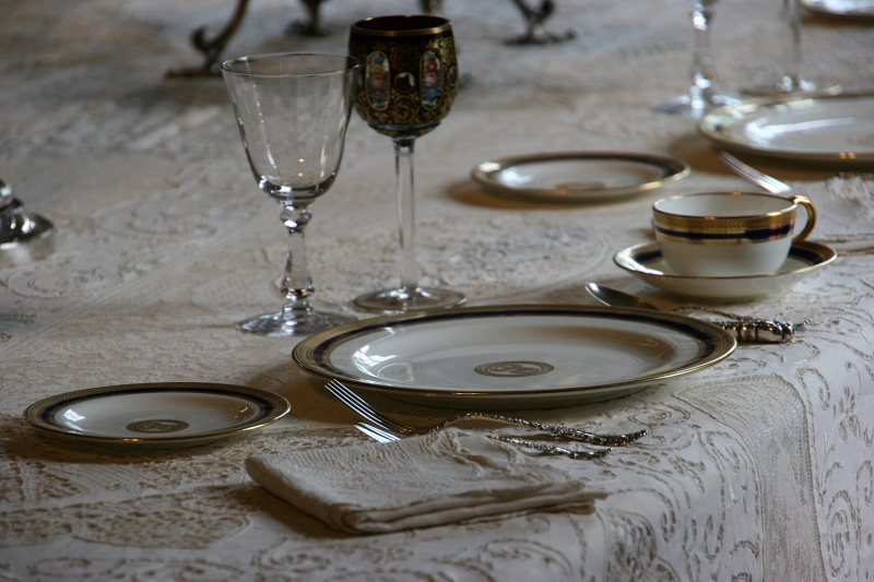 Everything about The Paine exudes elegance, including the table setting.