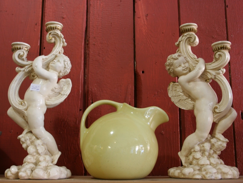 antique-shop-107-angel-candleholders-pitcher