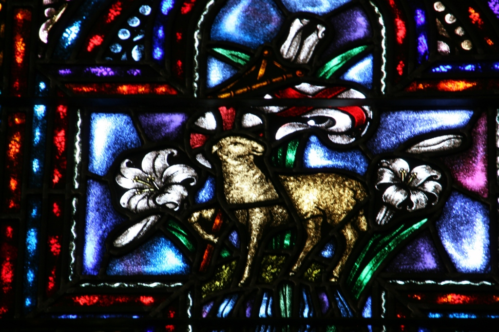The stained glass at St. Nicholas is exceptional in its detail, design and workmanship.
