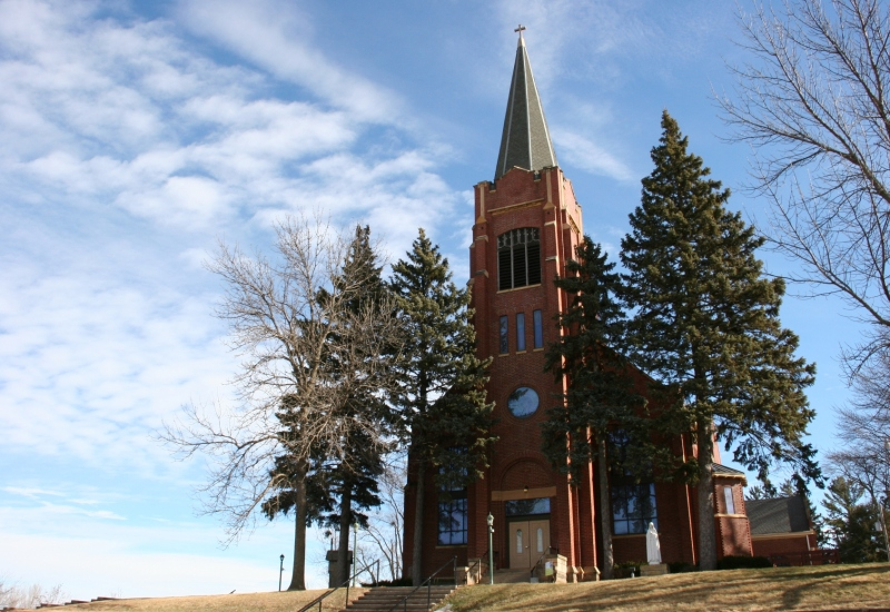 St. Nicholas Catholic Church in Elko New Market, Minnesota.