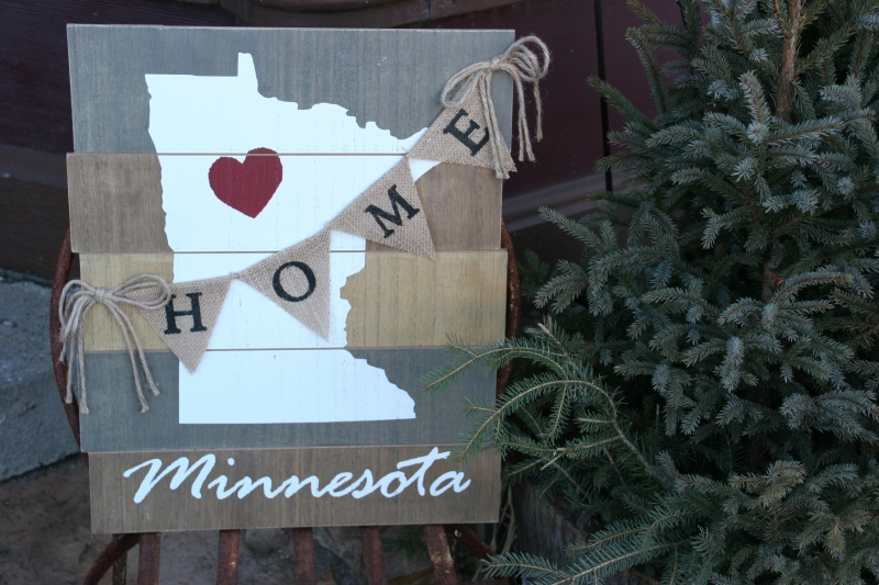 I delight in exploring small Minnesota towns like Jordan. This merchandise was displayed outside The Vinery Floral Home & Garden.