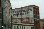 Downtown La Crosse, #28 vintage signage onbuilding