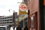 Downtown La Crosse, #98 Peerless Beer & peds withramp